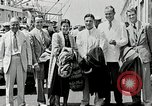 Image of Goodyear managers return Akron Ohio USA, 1941, second 56 stock footage video 65675030563