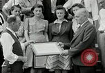 Image of victory loan award Saint Hyacinthe Quebec Canada, 1941, second 20 stock footage video 65675030569