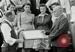 Image of victory loan award Saint Hyacinthe Quebec Canada, 1941, second 21 stock footage video 65675030569
