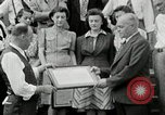 Image of victory loan award Saint Hyacinthe Quebec Canada, 1941, second 22 stock footage video 65675030569