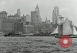 Image of New York Harbor New York City USA, 1948, second 56 stock footage video 65675030573