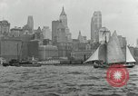 Image of New York Harbor New York City USA, 1948, second 57 stock footage video 65675030573