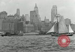 Image of New York Harbor New York City USA, 1948, second 59 stock footage video 65675030573