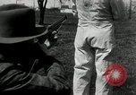 Image of bullet proof cloth test Toledo Ohio USA, 1932, second 41 stock footage video 65675030579