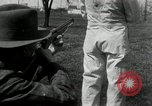 Image of bullet proof cloth test Toledo Ohio USA, 1932, second 42 stock footage video 65675030579