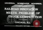 Image of automobile delivery by trains Chicago Illinois USA, 1932, second 9 stock footage video 65675030580