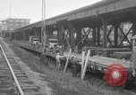 Image of automobile delivery by trains Chicago Illinois USA, 1932, second 10 stock footage video 65675030580