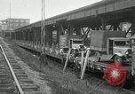 Image of automobile delivery by trains Chicago Illinois USA, 1932, second 16 stock footage video 65675030580