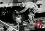 Image of automobile delivery by trains Chicago Illinois USA, 1932, second 19 stock footage video 65675030580