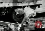 Image of automobile delivery by trains Chicago Illinois USA, 1932, second 20 stock footage video 65675030580