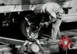 Image of automobile delivery by trains Chicago Illinois USA, 1932, second 21 stock footage video 65675030580