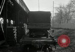 Image of automobile delivery by trains Chicago Illinois USA, 1932, second 30 stock footage video 65675030580