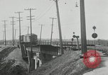 Image of automobile delivery by trains Chicago Illinois USA, 1932, second 35 stock footage video 65675030580