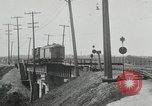 Image of automobile delivery by trains Chicago Illinois USA, 1932, second 36 stock footage video 65675030580