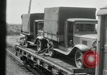 Image of automobile delivery by trains Chicago Illinois USA, 1932, second 41 stock footage video 65675030580