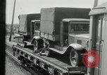Image of automobile delivery by trains Chicago Illinois USA, 1932, second 42 stock footage video 65675030580