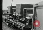 Image of automobile delivery by trains Chicago Illinois USA, 1932, second 44 stock footage video 65675030580