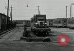 Image of automobile delivery by trains Chicago Illinois USA, 1932, second 50 stock footage video 65675030580
