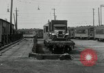 Image of automobile delivery by trains Chicago Illinois USA, 1932, second 51 stock footage video 65675030580