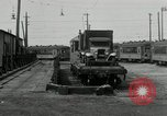 Image of automobile delivery by trains Chicago Illinois USA, 1932, second 52 stock footage video 65675030580