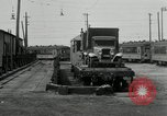 Image of automobile delivery by trains Chicago Illinois USA, 1932, second 53 stock footage video 65675030580