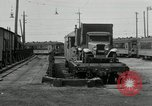 Image of automobile delivery by trains Chicago Illinois USA, 1932, second 54 stock footage video 65675030580