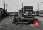 Image of automobile delivery by trains Chicago Illinois USA, 1932, second 55 stock footage video 65675030580