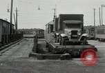 Image of automobile delivery by trains Chicago Illinois USA, 1932, second 56 stock footage video 65675030580