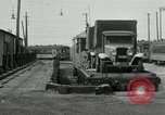 Image of automobile delivery by trains Chicago Illinois USA, 1932, second 57 stock footage video 65675030580