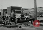 Image of automobile delivery by trains Chicago Illinois USA, 1932, second 59 stock footage video 65675030580