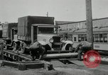 Image of automobile delivery by trains Chicago Illinois USA, 1932, second 60 stock footage video 65675030580