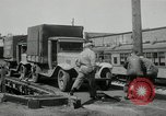 Image of automobile delivery by trains Chicago Illinois USA, 1932, second 62 stock footage video 65675030580