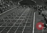 Image of Stanford players win 1934 track and field competition Philadelphia Pennsylvania USA, 1934, second 18 stock footage video 65675030592