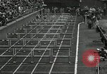 Image of Stanford players win 1934 track and field competition Philadelphia Pennsylvania USA, 1934, second 20 stock footage video 65675030592