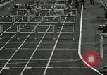 Image of Stanford players win 1934 track and field competition Philadelphia Pennsylvania USA, 1934, second 25 stock footage video 65675030592
