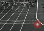 Image of Stanford players win 1934 track and field competition Philadelphia Pennsylvania USA, 1934, second 27 stock footage video 65675030592