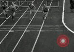 Image of Stanford players win 1934 track and field competition Philadelphia Pennsylvania USA, 1934, second 28 stock footage video 65675030592