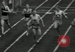 Image of Stanford players win 1934 track and field competition Philadelphia Pennsylvania USA, 1934, second 30 stock footage video 65675030592