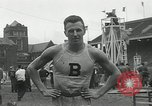 Image of Stanford players win 1934 track and field competition Philadelphia Pennsylvania USA, 1934, second 35 stock footage video 65675030592