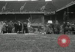 Image of Stanford players win 1934 track and field competition Philadelphia Pennsylvania USA, 1934, second 40 stock footage video 65675030592