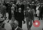 Image of US President Herbert Hoover Pine Canyon California USA, 1934, second 14 stock footage video 65675030593