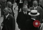 Image of US President Herbert Hoover Pine Canyon California USA, 1934, second 18 stock footage video 65675030593