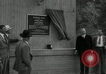 Image of US President Herbert Hoover Pine Canyon California USA, 1934, second 41 stock footage video 65675030593