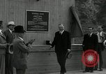 Image of US President Herbert Hoover Pine Canyon California USA, 1934, second 47 stock footage video 65675030593