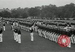 Image of Naval Academy Colors Presentation Annapolis Maryland USA, 1934, second 2 stock footage video 65675030595