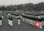 Image of Naval Academy Colors Presentation Annapolis Maryland USA, 1934, second 7 stock footage video 65675030595