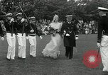 Image of Naval Academy Colors Presentation Annapolis Maryland USA, 1934, second 9 stock footage video 65675030595