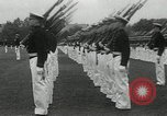 Image of Naval Academy Colors Presentation Annapolis Maryland USA, 1934, second 14 stock footage video 65675030595
