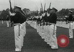 Image of Naval Academy Colors Presentation Annapolis Maryland USA, 1934, second 15 stock footage video 65675030595