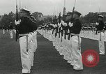 Image of Naval Academy Colors Presentation Annapolis Maryland USA, 1934, second 16 stock footage video 65675030595